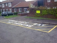 thermoplastic line markings